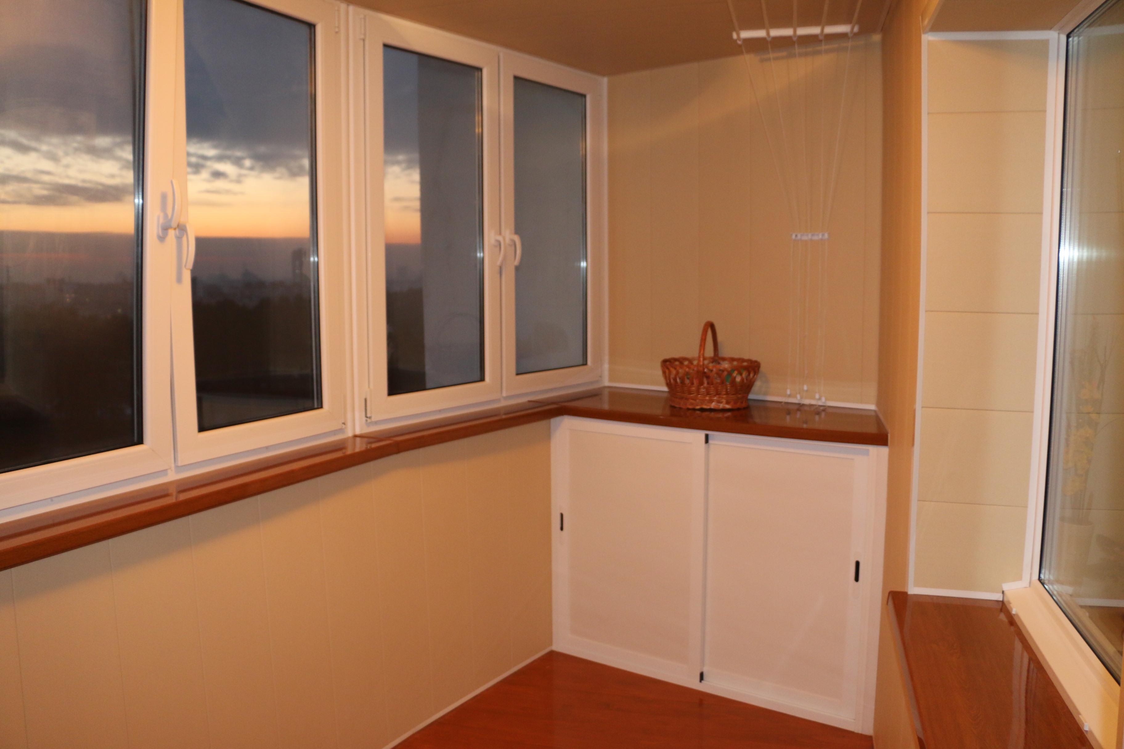 Внутренняя отделка балконов и обшивка лоджий в минске. фото,.