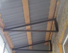 Крыша на балкон: ремонт крыши последнего этажа балкона и лод.