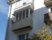 Увеличение площади балкона в минске, вынос балконной рамы вп.