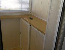 Отделка балкона пвх: фото отделки балкона пластиковой вагонк.