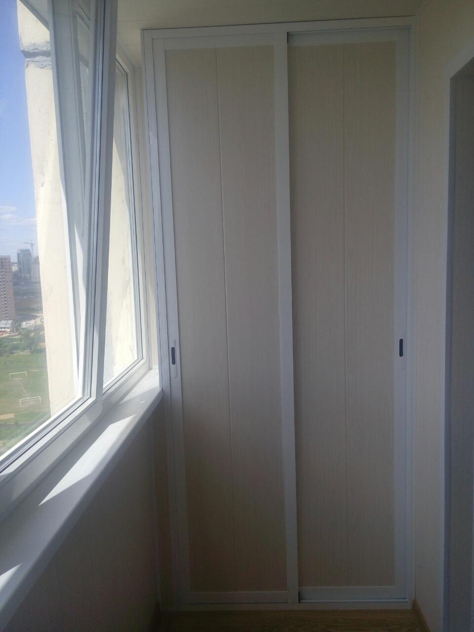 Шкаф на балкон - мебель для балкона, заказать шкаф в минске .