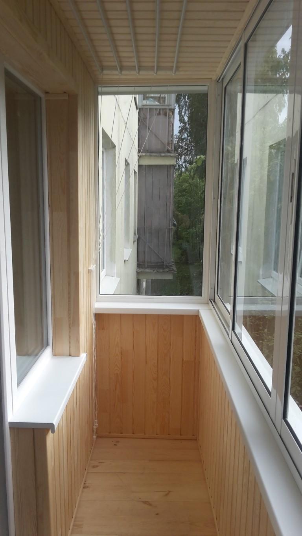 Внутренняя отделка балкона: фото вариантов внутренней отделк.
