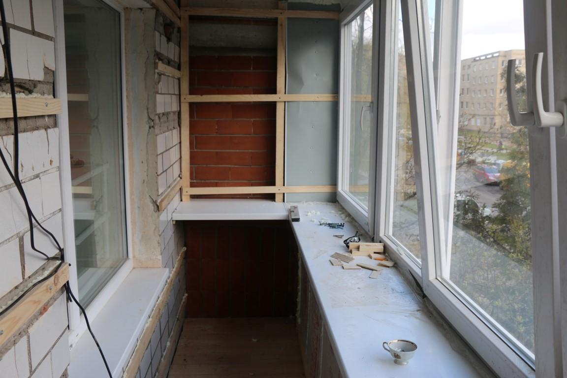 Утепление балконов: фото утепления балкона пенополиуретаном .